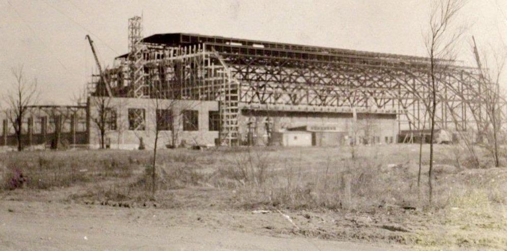 Hinkle Fieldhouse, exterior construction