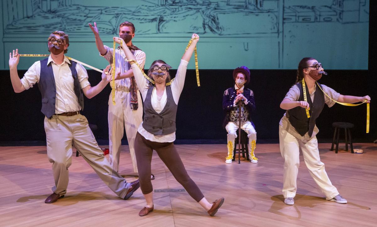 Butler Theatre's 'Lafcadio,' photo by Zach Rosing