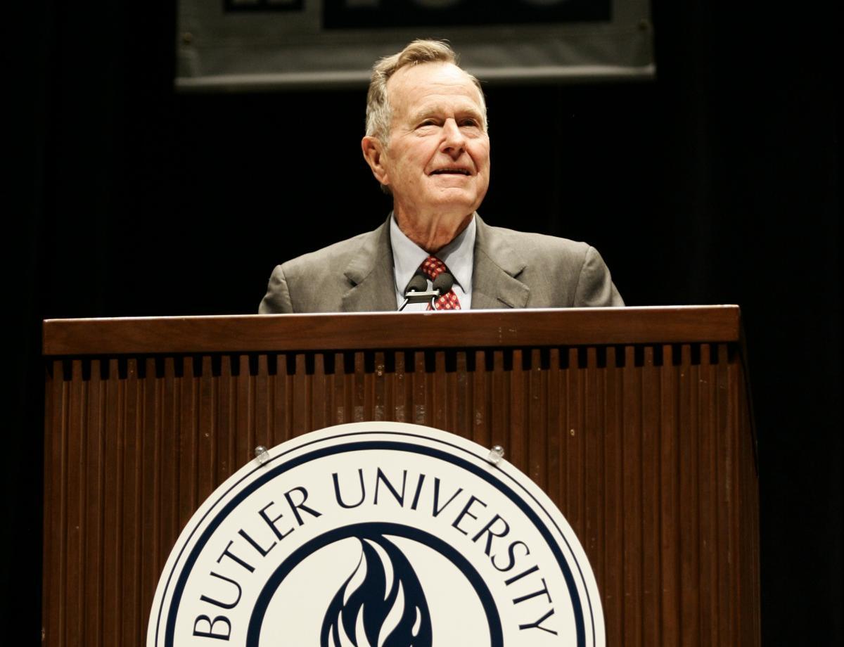 President George H.W. Bush, 2006