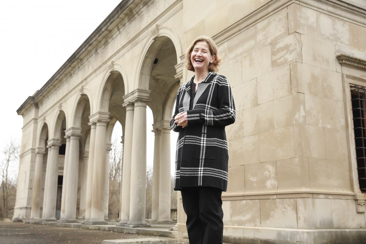 Diane Timmerman at the Taggart Memorial