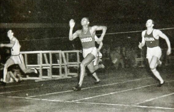 Jesse Owens at Hinkle