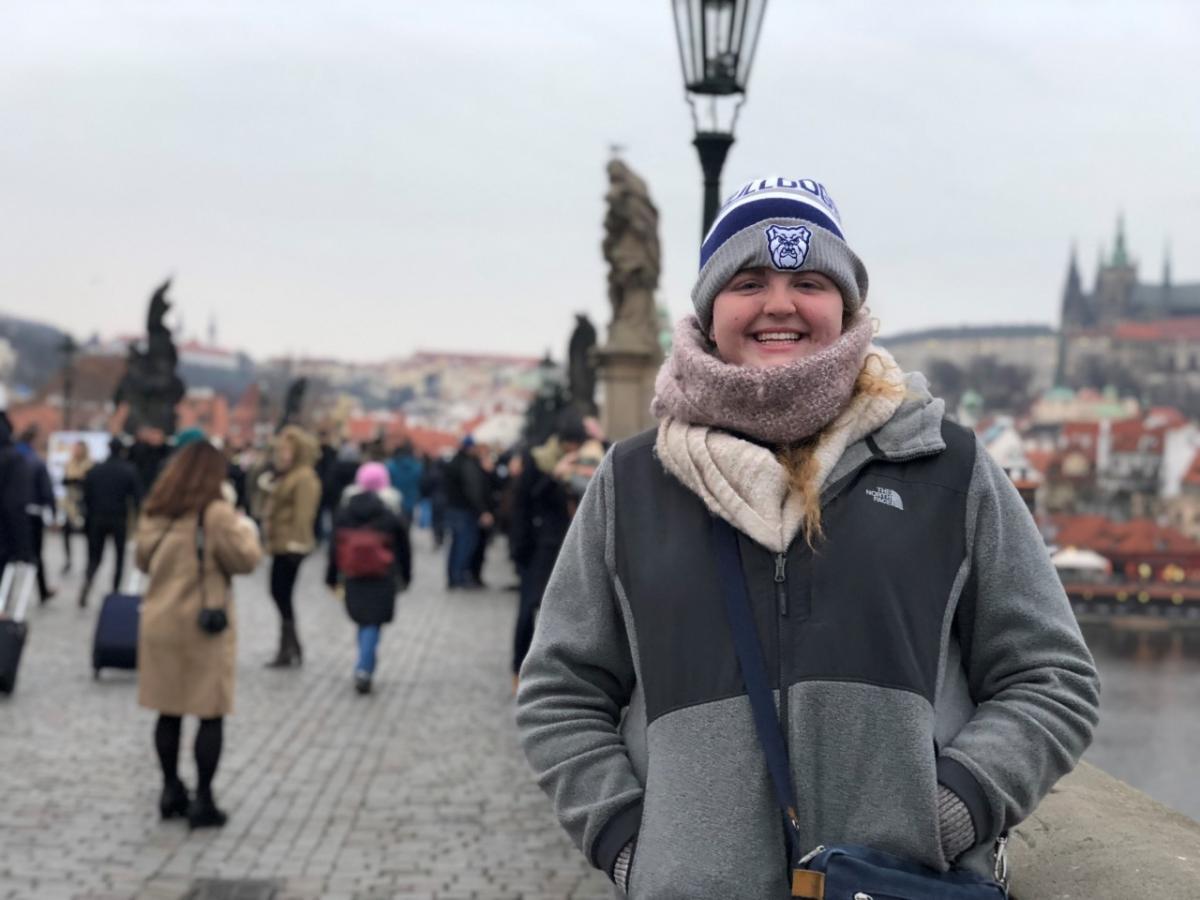Alice Moore in Prague