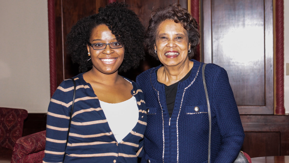 Image from Reverend Jean McAnulty Smith '65 and Lydia Johnson '12, MFA '15 article
