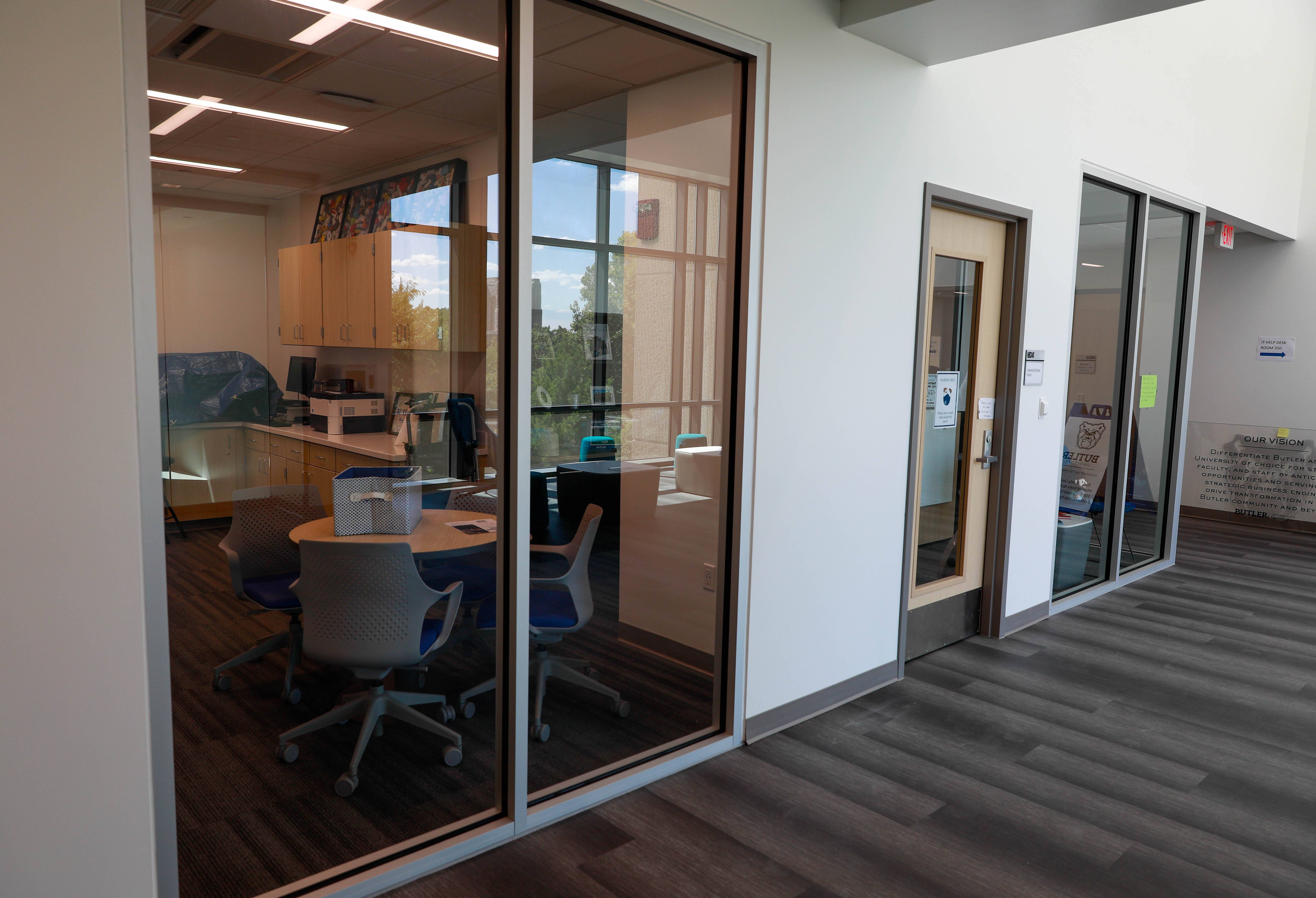 EDDP space, Butler University Holcomb Building