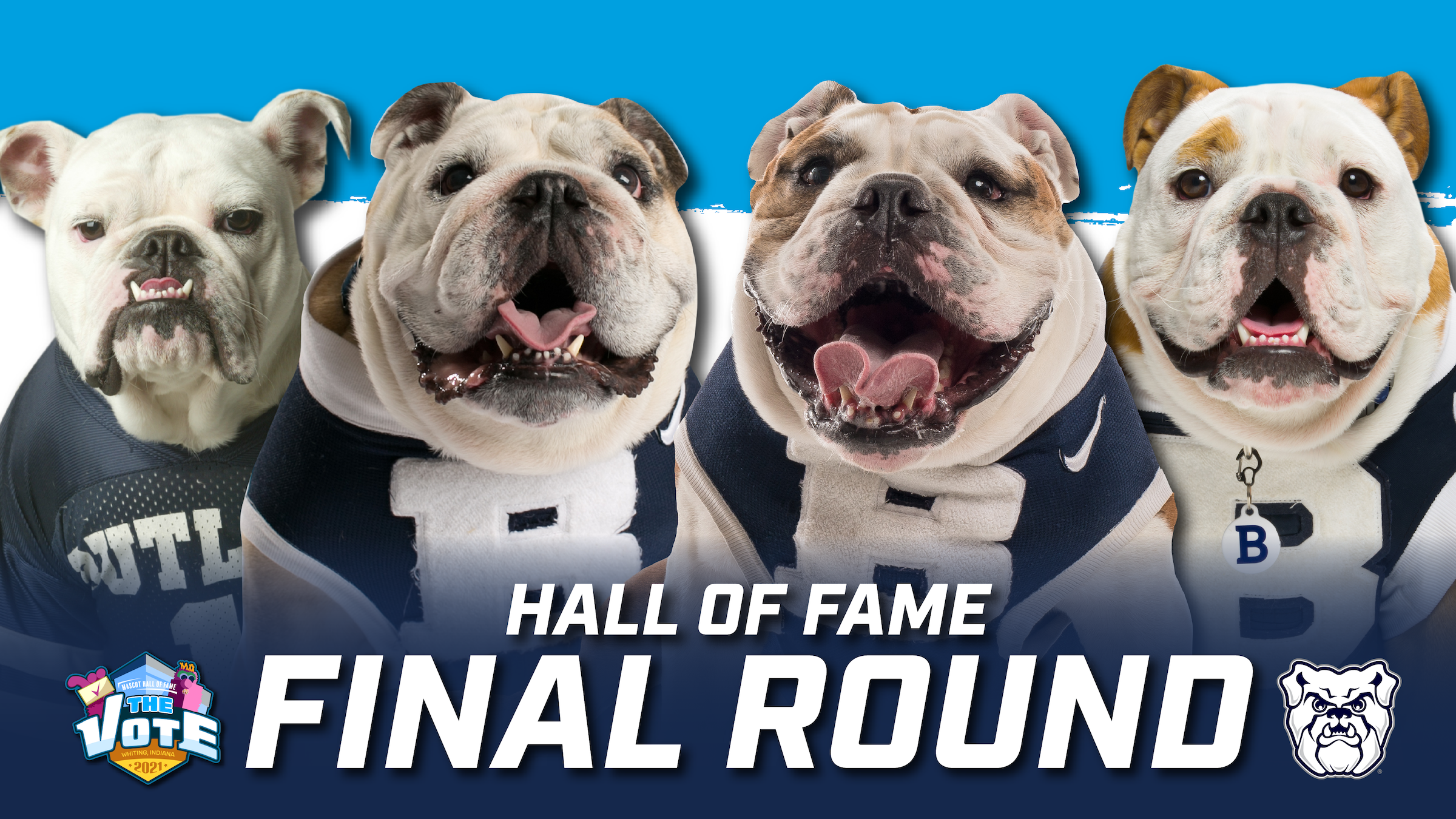 Butler Blue in Mascot Hall of Fame